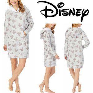 Disney Mickey Fleece Lounger Hoodie Robe Plus Size